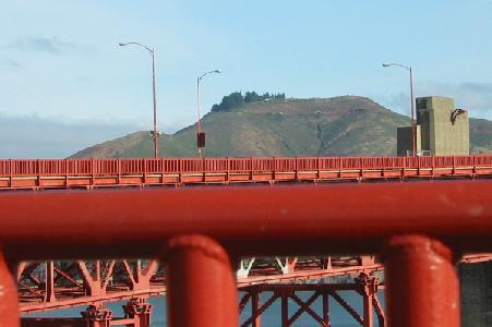 golden gate bridge. By Golden Gate Bridge I can