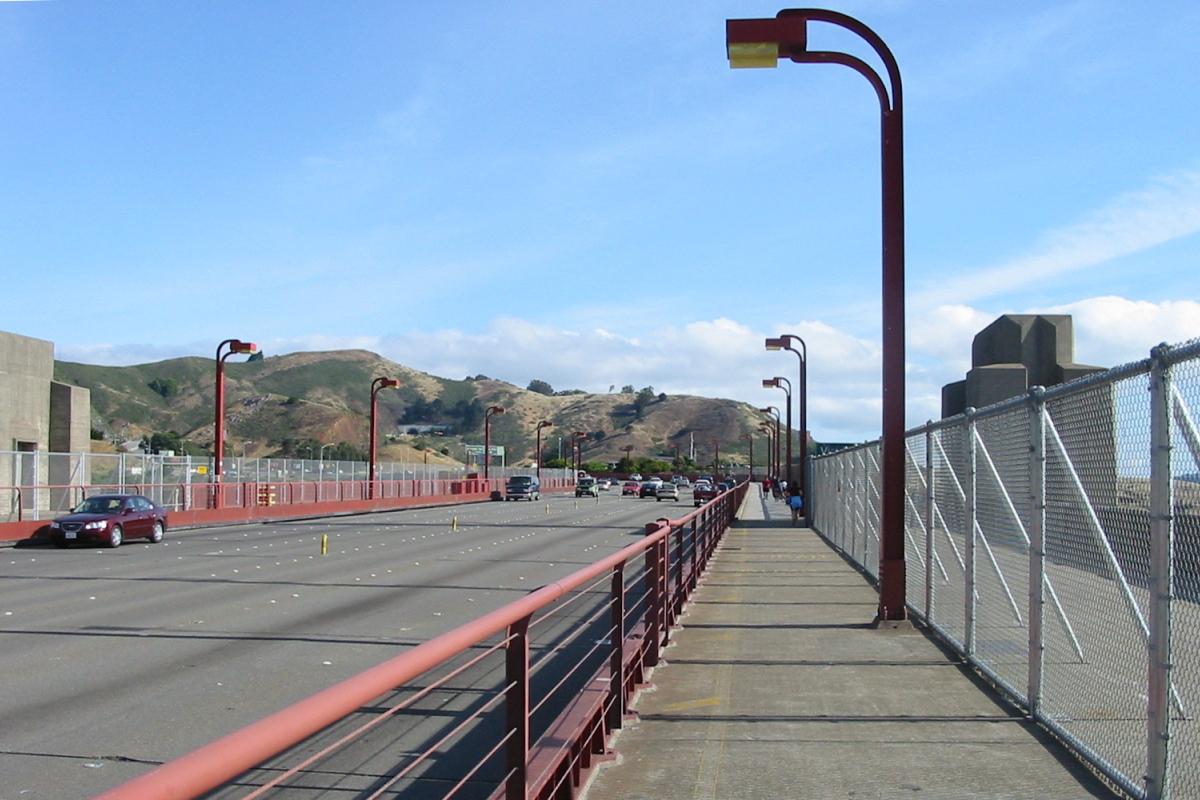 north of golden gate bridge