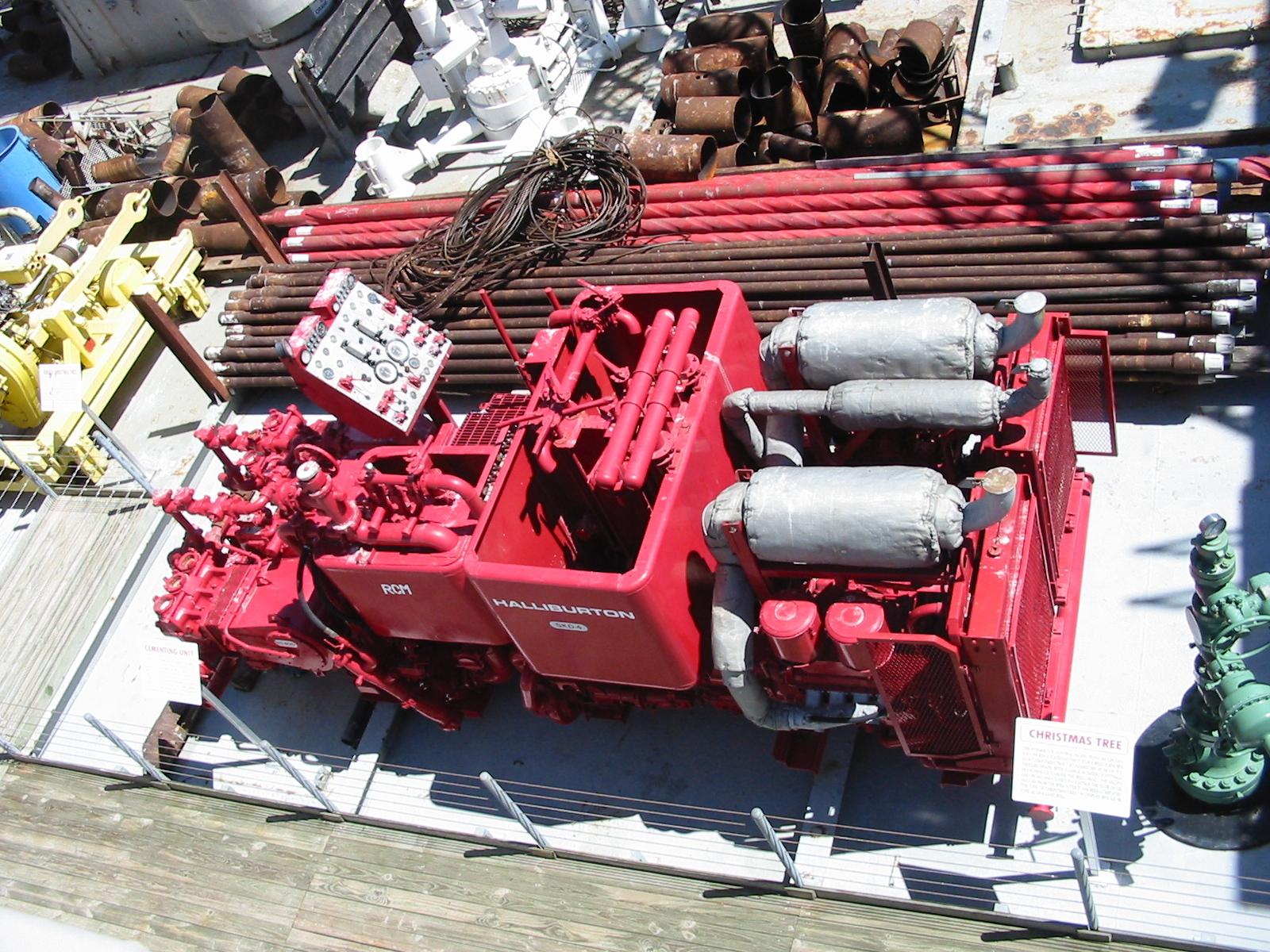 Halliburton SKD 4 Pump